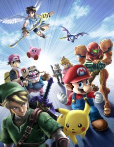 Rating: Safe Score: 25 Tags: angel armor cg devil dress fox_mccloud gun kid_icarus kirby kirby_(character) link mario mario_bros. meta_knight metroid nintendo pikachu pit pointy_ears pokemon pokemon_trainer princess_peach_toadstool samus_aran star_fox super_smash_bros. sword the_legend_of_zelda wario wings User: Dantares