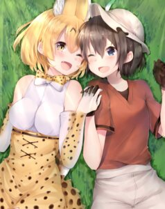 Rating: Safe Score: 17 Tags: animal_ears kaban_(kemono_friends) kemono_friends maria_(maria0304) serval User: Mr_GT