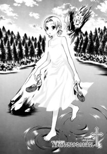 Rating: Safe Score: 4 Tags: dress endou_minari maria_holic momoi_sachi monochrome summer_dress User: kaitoucoon