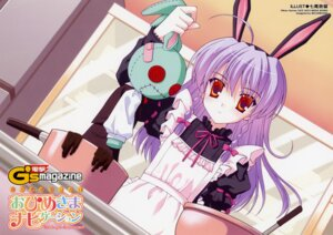 Rating: Safe Score: 19 Tags: animal_ears bunny_ears etou_neko lolita_fashion nanao_naru ohimesama_navigation User: admin2