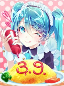 Rating: Safe Score: 24 Tags: 1055 hatsune_miku maid vocaloid User: Mr_GT