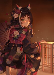 Rating: Questionable Score: 25 Tags: animal_ears fang_qiao japanese_clothes karyl_(princess_connect) nekomimi princess_connect princess_connect!_re:dive tail User: yanis