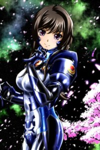 Rating: Safe Score: 35 Tags: bodysuit genya_(genya67) muvluv muvluv_alternative takamura_yui total_eclipse User: mash