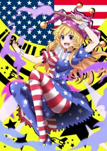 Rating: Safe Score: 31 Tags: clownpiece dress heels pantyhose rihito_(usazukin) touhou User: Mr_GT