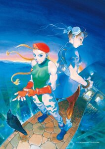 Rating: Safe Score: 5 Tags: bengus cammy_white chinadress chun_li leotard pantyhose street_fighter User: Radioactive