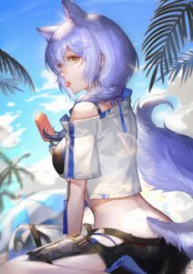 Rating: Safe Score: 11 Tags: animal_ears arknights provence_(arknights) spade-m tail User: DreamingCats