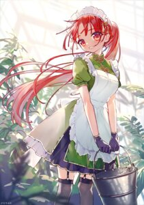 Rating: Safe Score: 11 Tags: asian_clothes hinasumire hong_meiling maid stockings thighhighs touhou User: Mr_GT