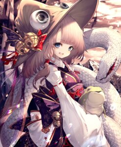 Rating: Safe Score: 39 Tags: hito_komoru japanese_clothes moriya_suwako touhou User: Mr_GT