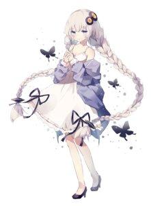 Rating: Safe Score: 27 Tags: cleavage dress fujii_shino heels kizuna_akari voiceroid User: BattlequeenYume