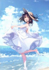 Rating: Safe Score: 43 Tags: dress skirt_lift summer_dress u35 wet User: kiyoe