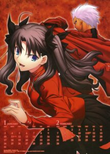 Rating: Safe Score: 14 Tags: archer calendar fate/stay_night simosi takeuchi_takashi toosaka_rin type-moon User: Aurelia