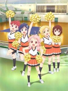 Rating: Safe Score: 19 Tags: animayell! arima_hizume cheerleader hatoya_kohane sawatari_uki tagme tatejima_kotetsu ushiku_kana User: mood