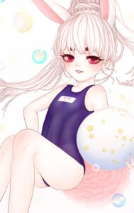 Rating: Safe Score: 4 Tags: animal_ears bunny_ears school_swimsuit swimsuits tagme tail User: Animextremist
