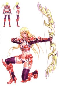 Rating: Safe Score: 21 Tags: armor cleavage mu_online thighhighs yamashita_shunya User: Radioactive