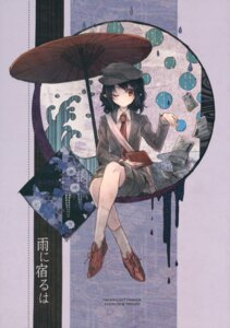 Rating: Safe Score: 12 Tags: tagme touhou umbrella User: Radioactive