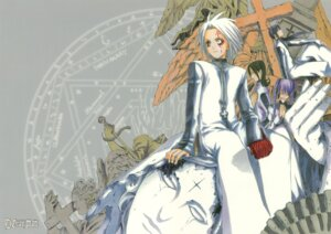 Rating: Safe Score: 3 Tags: allen_walker d.gray-man hoshino_katsura kanda_yu komui_lee lenalee_lee User: Radioactive