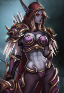 Rating: Safe Score: 22 Tags: armor bikini_armor cleavage dandon_fuga elf pointy_ears sylvanas_windrunner weapon world_of_warcraft User: NotRadioactiveHonest