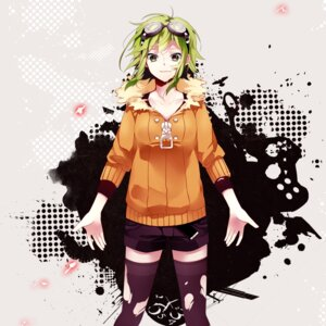 Rating: Safe Score: 24 Tags: gumi hatsuko thighhighs torn_clothes vocaloid User: animeprincess