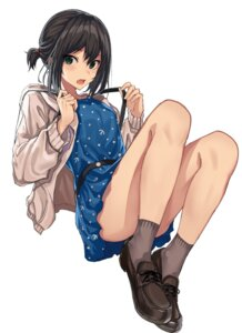 Rating: Safe Score: 57 Tags: dress fubuki_(kancolle) heels kantai_collection oweee User: hiroimo2