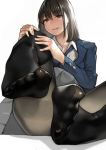 Rating: Questionable Score: 71 Tags: feet pantyhose seifuku yom User: Mr_GT
