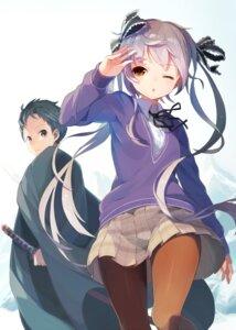 Rating: Safe Score: 30 Tags: pantyhose seifuku sword tokyo_ziggurat tomioka_jirou User: SubaruSumeragi