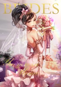 Rating: Safe Score: 32 Tags: boku_no_hero_academia dress mozer wedding_dress User: Nepcoheart