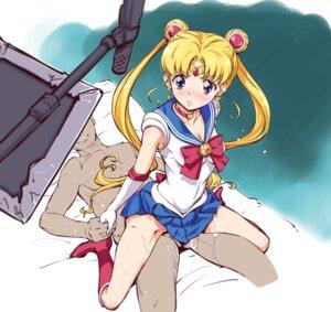 Rating: Explicit Score: 16 Tags: cleavage cum sailor_moon seifuku sex skirt_lift suzuki24 tsukino_usagi User: Mr_GT