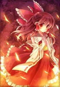 Rating: Safe Score: 16 Tags: asuka_chiyo cyoko hakurei_reimu touhou User: fireattack
