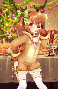Rating: Safe Score: 24 Tags: christmas horns m.vv romance_sangoku thighhighs User: Mr_GT