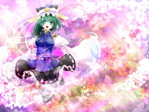 Rating: Safe Score: 7 Tags: nayuzu shikieiki_yamaxanadu thighhighs touhou wallpaper User: Shamensyth