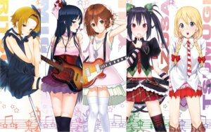 Rating: Safe Score: 41 Tags: akiyama_mio guitar hirasawa_yui ken-1 k-on! kotobuki_tsumugi nakano_azusa tainaka_ritsu thighhighs wallpaper User: Vampire1805