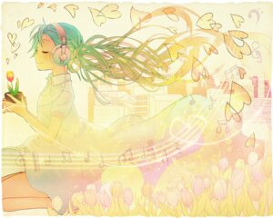 Rating: Safe Score: 9 Tags: dress hatsune_miku headphones keishi vocaloid User: charunetra