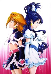 Rating: Safe Score: 10 Tags: bike_shorts dress futari_wa_pretty_cure kamikita_futago misumi_nagisa pretty_cure yukishiro_honoka User: drop