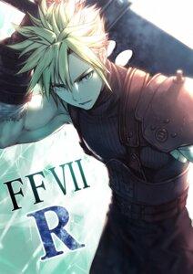 Rating: Safe Score: 5 Tags: cloud_strife final_fantasy final_fantasy_vii male nakanishi_tatsuya sword User: mash