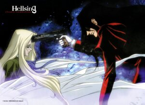 Rating: Safe Score: 5 Tags: alucard gun hellsing integra_hellsing User: Radioactive