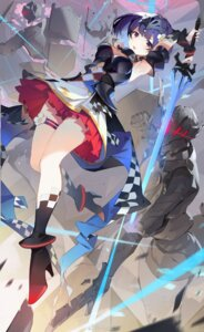Rating: Questionable Score: 32 Tags: armor cleavage garter girl_cafe_gun girl_cafe_gun_ii heels helic_(7317helic) shi_wuyou sword User: zyll