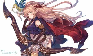 Rating: Safe Score: 55 Tags: arisa_(shadowverse) benitama fairy pointy_ears shadowverse thighhighs weapon wings User: nphuongsun93