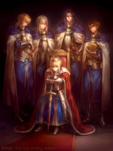 Rating: Safe Score: 40 Tags: armor bedivere_(fsn) berserker_(fate/zero) fate/extra fate/stay_night fate/zero gawain_(fsn) kanmuri lancelot_(fsn) saber sword User: Mr_GT