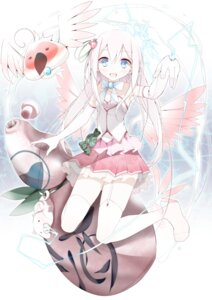 Rating: Safe Score: 41 Tags: oouso stockings thighhighs wings User: 椎名深夏