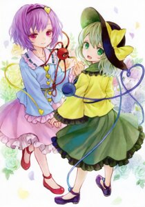 Rating: Safe Score: 23 Tags: ama-tou komeiji_koishi komeiji_satori touhou User: Mr_GT