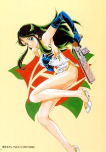 Rating: Questionable Score: 6 Tags: breast_hold chinadress giant_robo ginrei gun User: charunetra