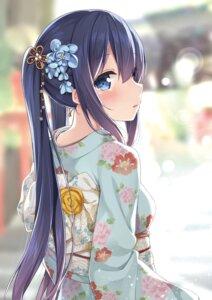 Rating: Questionable Score: 57 Tags: karutamo kimono rakugaki-chan User: Mr_GT