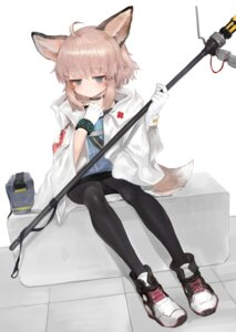 Rating: Safe Score: 12 Tags: animal_ears arknights dokomon pantyhose sussurro_(arknights) tail weapon User: Mr_GT