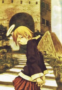 Rating: Safe Score: 11 Tags: abe_yoshitoshi haibane_renmei rakka wings User: Davison