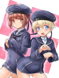 Rating: Questionable Score: 16 Tags: kantai_collection okitakung pantsu uniform z1_leberecht_maass_(kancolle) z3_max_schultz_(kancolle) User: fairyren