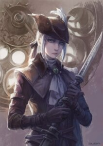 Rating: Safe Score: 29 Tags: bloodborne jlien- lady_maria_of_the_astral_clocktower sword User: Mr_GT