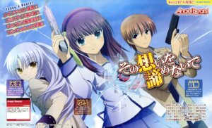 Rating: Safe Score: 15 Tags: angel_beats! gun otonashi seifuku tenshi uchida_shinya yurippe User: acas