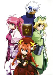 Rating: Safe Score: 11 Tags: mahou_shoujo_lyrical_nanoha mahou_shoujo_lyrical_nanoha_a's shamal signum vita zafira User: Radioactive