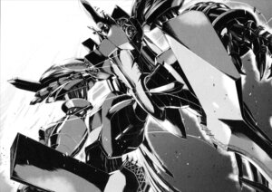 Rating: Safe Score: 4 Tags: mecha monochrome reideen reideen_(mecha) User: WhiteExecutor