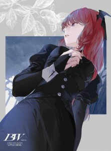 Rating: Safe Score: 15 Tags: blood hillly_(maiwetea) koakuma touhou wings User: Mr_GT